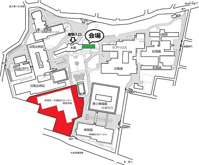 第一回イベント会場詳細地図