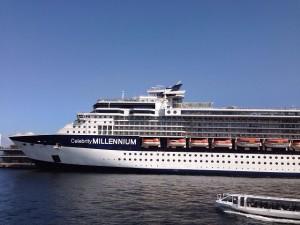 『セレブリティミレニアム』という名の豪華客船華客船