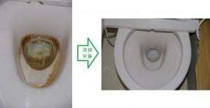 杉っ子倶楽部 福祉くりーサービス 清掃事例トイレ1