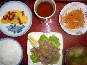 龍宮城の手作りの出来立ての温かい昼食