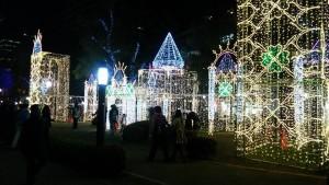 広島県 平和大通り イルミネーション